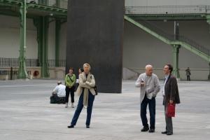 Richard Serra dans sa promenade